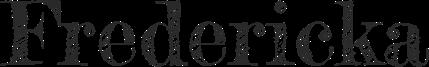 MBJ London Client Parlour Typeface Fredericka