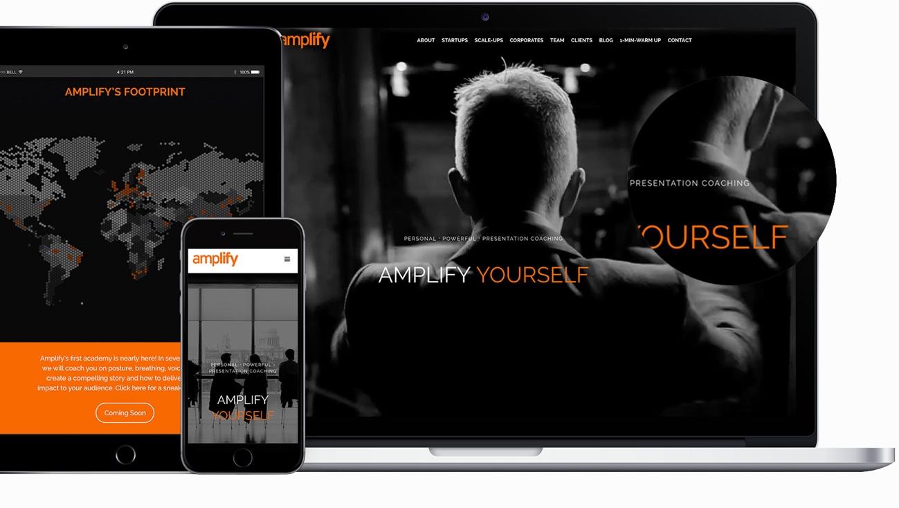 MBJ London Client Amplify Website